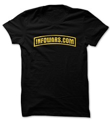 Infowars Army Style Logo T-Shirt