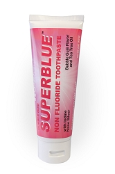 Superblue Fluoride-Free Toothpaste: Bubble Gum