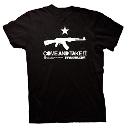 Come And Take It T-Shirt Black