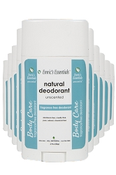 Emric's Essentials Deodorant - Unscented: 10 Pack