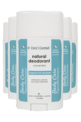 Emric's Essentials Deodorant - Unscented: 5 Pack