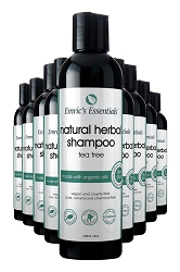 Emric's Essentials Natural Shampoo - Tea Tree: 10 Pack