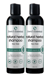 Emric's Essentials Natural Shampoo - Tea Tree: 2 Pack