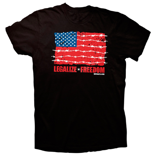 Legalize Freedom Flag T Shirt