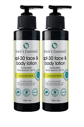 Emric's Essentials SPF-30 Face & Body Lotion: 2 Pack