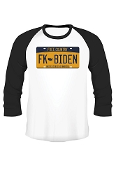 FK License Plate T-Shirt