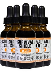Survival Shield X-2: 5 Pack