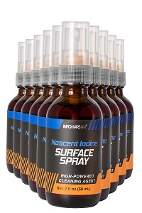 Nascent Iodine Surface Spray 10-Pack