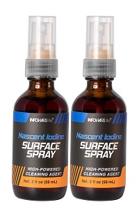 Nascent Iodine Surface Spray 2-Pack
