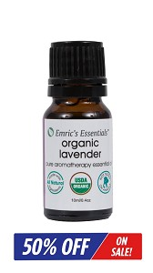 Organic Lavender Essential Oil By Emric's Essentials