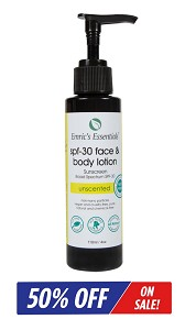 Emric's Essentials SPF-30 Face & Body Lotion