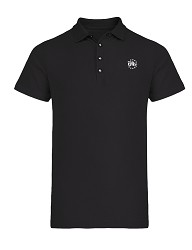 Made In 1776 Black Polo Shirt