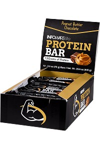 Infowars Life Protein Bar Chocolate Peanut Butter