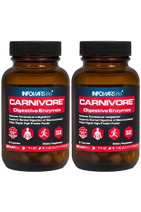 Carnivore by Infowars Life - 30 Count 2 Pack