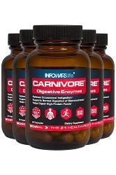 Carnivore by Infowars Life - 30 Count 5 Pack