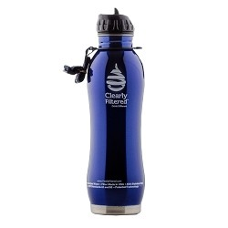 Stainless Steel Water Bottle - Clearly Filtered