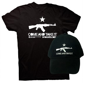 Come And Take It Black Shirt and Hat Special