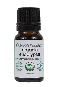 Organic Eucalyptus Essential Oil By Emric's Essentials