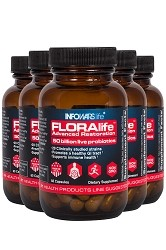 FLORAlife Advanced Restoration Probiotics 5-Pack