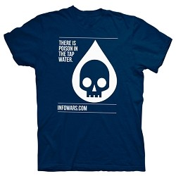Fluoride In The Tap Water - Blue Shirt