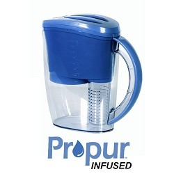 Propur Filtered Water Pitcher w/ free Fruit Infused accessory