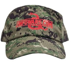 Digital Camo Infowars Hat