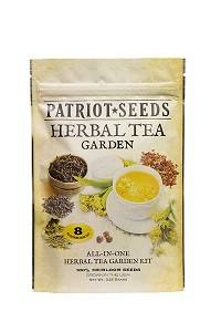 Herbal Tea Garden Seed Kit by Patriot Seeds