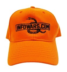 Hunter Orange Infowars Hat