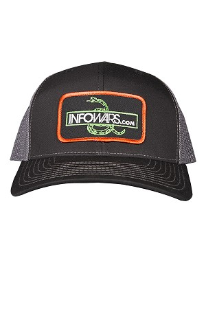 Infowars Don't Tread On Me Patch Hat