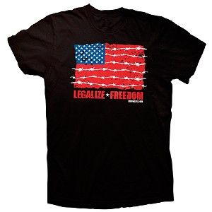 Legalize Freedom Flag T-Shirt