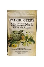 Medicinal Herb Garden Seed Kit by Patriot Seeds