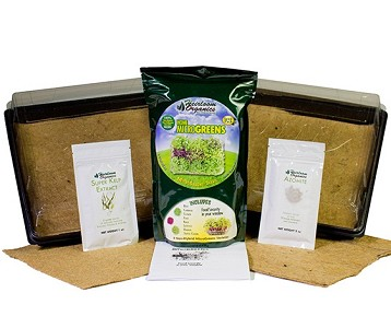 Heirloom Organics Complete MicroGreens Kit