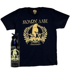 Molon Labe Shirt And Water Bottle