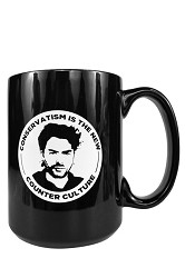 Paul Joseph Watson-Conservatism is the New Counter Culture Coffee Mug