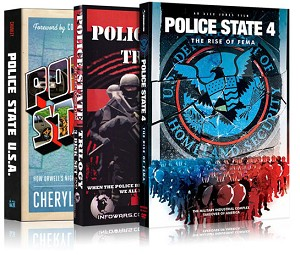 Police State Book And DVD Combo