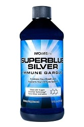 Superblue Silver Immune Gargle 16oz Bottle