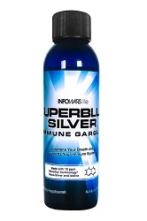 Superblue Silver Immune Gargle 3.4oz Bottle