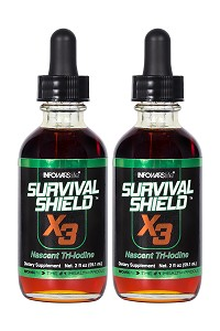 Survival Shield X-3 2 oz. Bottle 2-Pack
