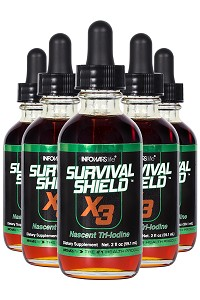Survival Shield X-3 2 oz. Bottle 5-Pack