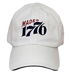 Made in 1776 White Hat