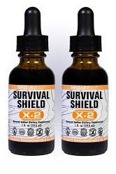 Survival Shield X-2: 2 Pack